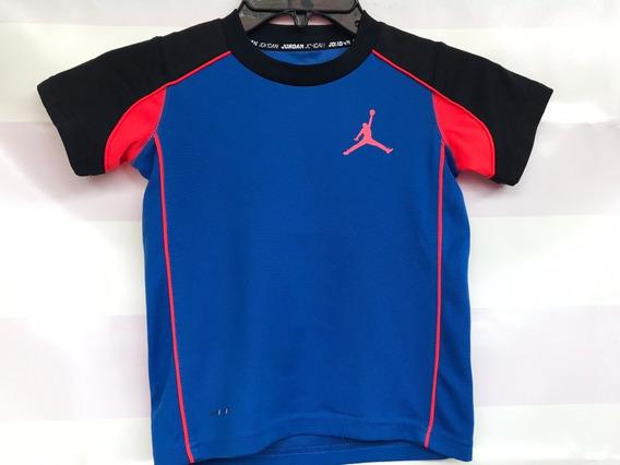 Playera Infantil Jordan Nike Drifit Training 4-5 Años