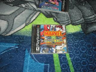 Marvel Vs Capcom 1 Muy Buen Estado Ps1