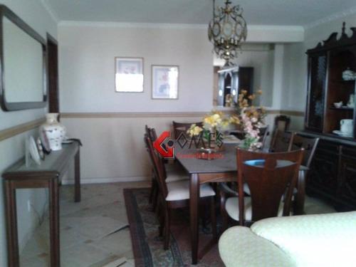 Apartamento Com 3 Dormitórios À Venda, 180 M² Por R$ 620.000,00 - Chácara Inglesa - São Bernardo Do Campo/sp - Ap2214