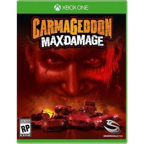 Carmageddon Max Damage Xbox One Mídia Física