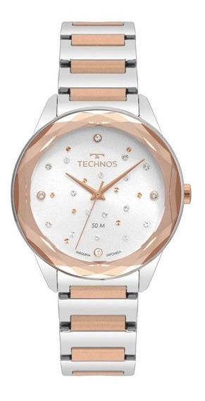 Relógio Technos Crystal Swarovski Feminino 2036mki/4c