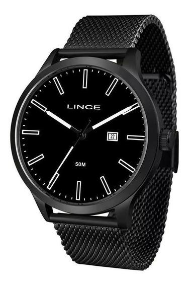 Relógio Lince Masculino Preto - Mrn4494s Pbpx