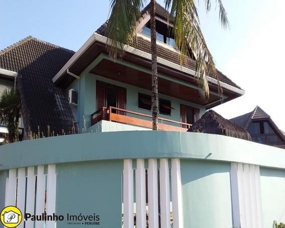 Casa Para Temporada Na Praia De Peruíbe - 100 Metros Do Mar - Ca03322 - 2288007
