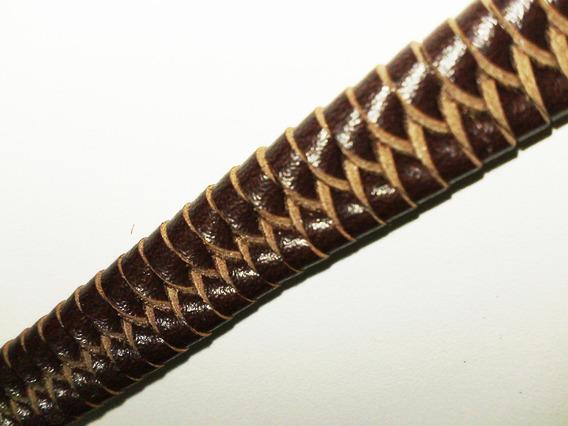 Pulseira Bracelete Em Couro - 18 À 28 Cm - Promoção