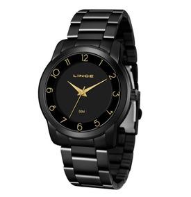 Relógio Lince Lrn4509l P2px Analógico Preto Original