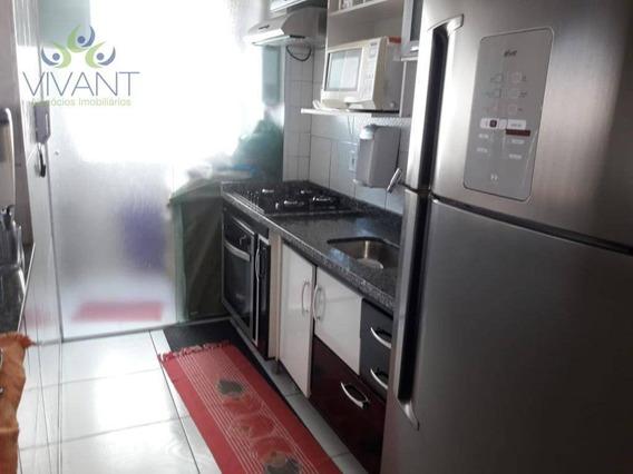 Apartamento Com 2 Dormitórios À Venda Por R$ 200.000,00 - Jardim São Miguel - Ferraz De Vasconcelos/sp - Ap0311