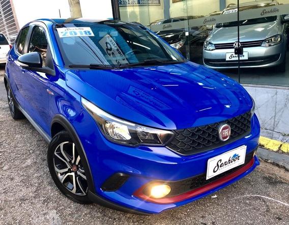 Fiat Argo Hgt 1.8 Flex Automático Azul - 2018