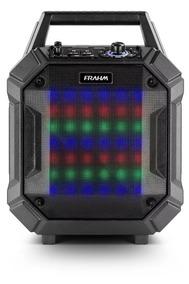 Caixa De Som Amplificada Pb 400 Bt Frahm - Recarregável