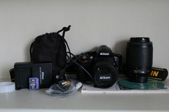 Nikon D5300 + Lente Dx 55-200mm + Apenas 15 Mil Clicks