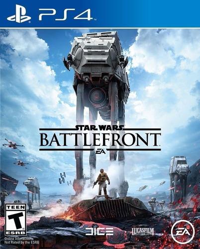 Imagen 1 de 3 de Star Wars Battlefront Juego Ps4 Original + Garantía+ Español