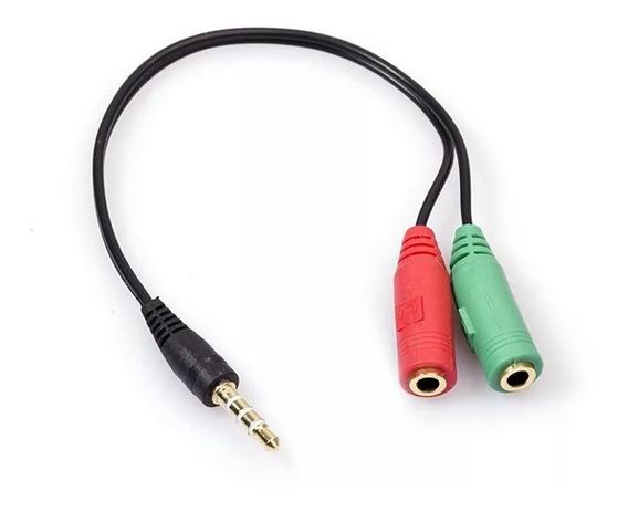 Adaptador P2 P3, Microfone Lapela, Celular, Headset Fone