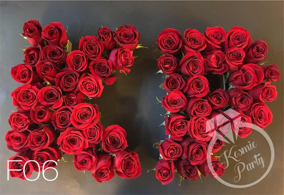 Letras Para Arreglos De Flores En Mercado Libre México