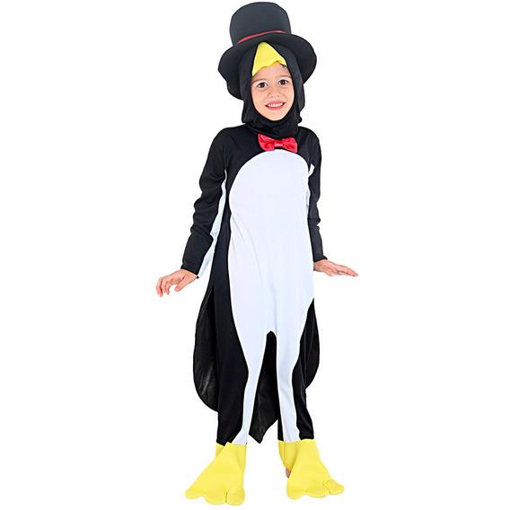 Roupa De Pinguim De Smoking Infantil Com Cartola Original