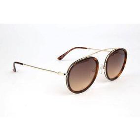 11540a92a Óculos De Sol Atitude At5381 G21 Tartaruga Haste Dourado
