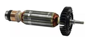 Induzido Rotor + Carvão P/ Esmerilhadeira Ga4530 220v Makita