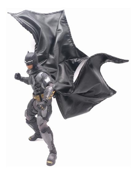 Acessórios 1/12 Roupas-capa Para Mezco Tactical Suit Batman