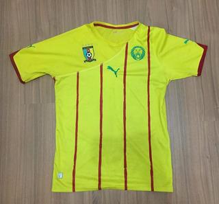 Camisa Camarões Copa 2010 (nigéria, África 2014, Reserva)