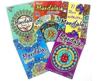 Libro De Mandalas Para Colorear De 96 Paginas X 3 Unidades