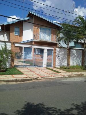 Casa Com 4 Dormitórios À Venda, 250 M² Por R$ 980.000 - Alto Taquaral - Campinas/sp - Ca6379