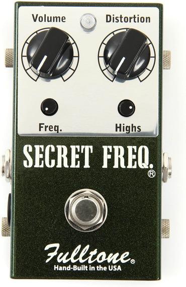 Pedal Overdrive Fulltone Secret Freq. Usa