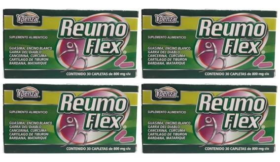 Reumo Flex Ypenza Verde 30 Capletas (4 Piezas) Envio Full