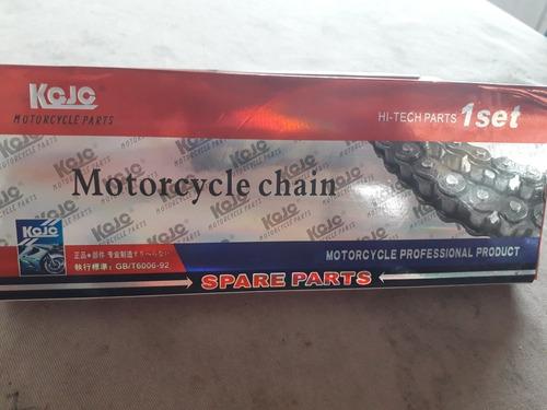 Cadena Para Moto Marca Kojo Modelo 428h  -120l