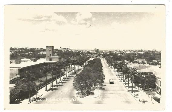 Panorama Da Av. Getúlio Vargas Em João Pessoa Paraíba 1967