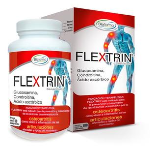 Glucosamina Flextrin Oral Frasco Con 180 Comprimidos