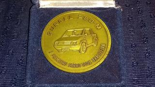 Medalha Do Gurgel Motores S/a De Rio Claro São Paulo De 1987