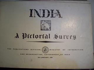 Adp India A Pictorial Survey / 1950 Ministry Of Information