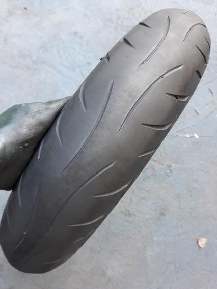 Dianteiro Metzeler M5 120/70-17 Cb300 Fazer Twister 250cc R1
