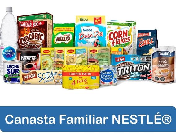 Canasta Familiar Nestlé Alimentos Para Tu Despensa