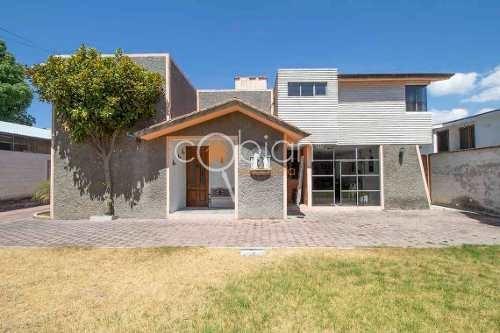 Casa Con Jardin En Huamantla Centro, Tlaxcala