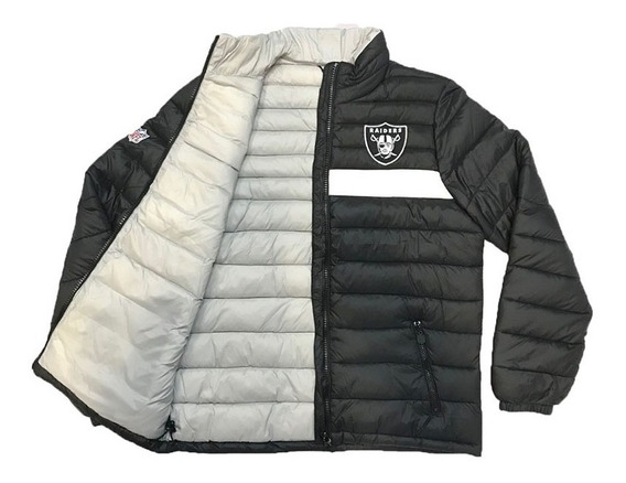 Jaqueta New Era Nfl Bomber Oakland Raiders