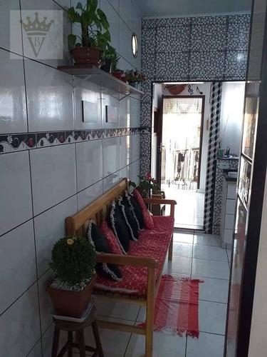 Casa Com 2 Dormitórios À Venda, 175 M² Por R$ 390.000,00 - Cidade São Mateus - São Paulo/sp - Ca0534