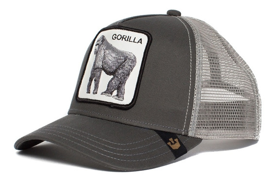 Gorra Goorin Bros Baseball King Of The Jungle Trucker Gorila