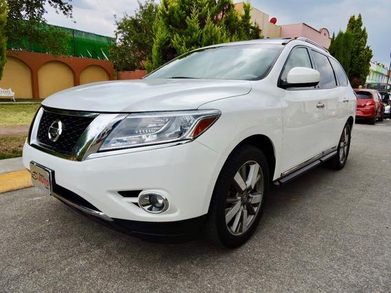 Nissan Pathfinder Exclusive 2014 Unico Dueño, Tomo Auto