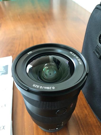 Lente Sony Fe 16-35mm F/2.8 Gm E-mount Excelente+++++ Estado