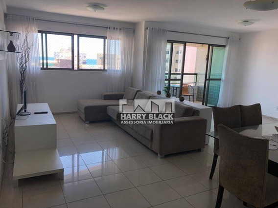 Apartamento Com 3 Dormitórios Para Alugar, 119 M² Por R$ 2.400/mês - Boa Viagem - Recife/pe - Ap9298