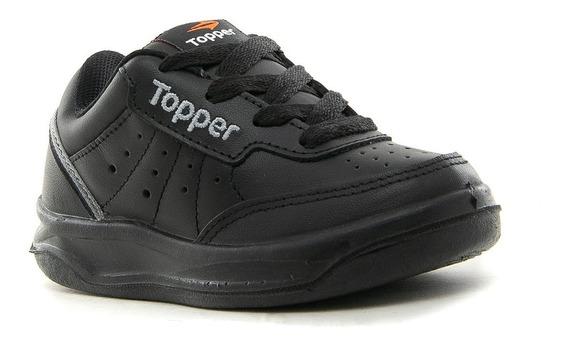Zapatilla Topper X-forcer Kids Cuero