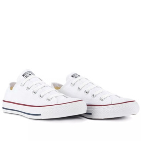 50%off Tênis Converse All Star Cano Baixo Off White Branco