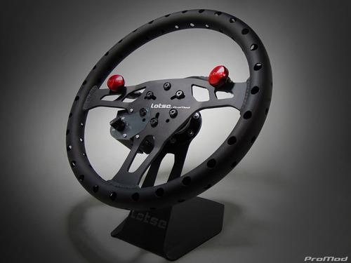 Volante Lotse Pro Mod Racing Arrancada Pista Botao Drag