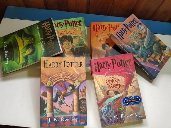 Coleção Livros Harry Potter 6 Volumes