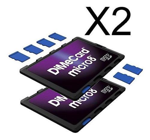 Imagen 1 de 7 de Dimecard Portatarjetas De Memoria Micro8