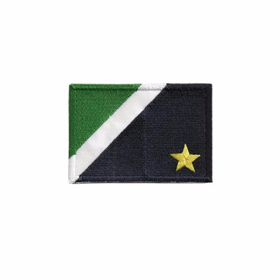 Bordado Termocolante Bandeira Mato Grosso Do Sul