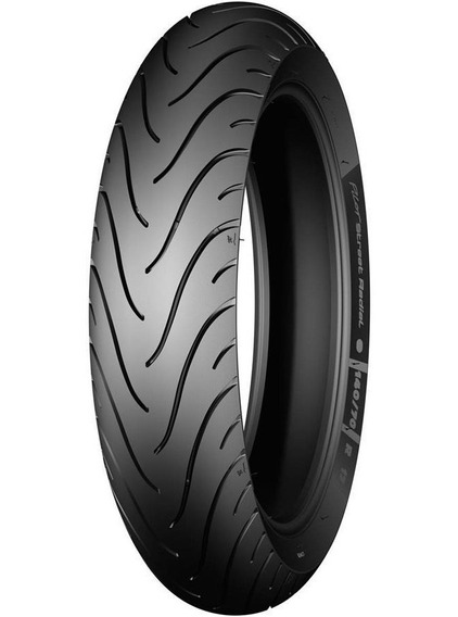 Pneu Dianteiro Michelin 80/90-17 Pilot Street Biz 100