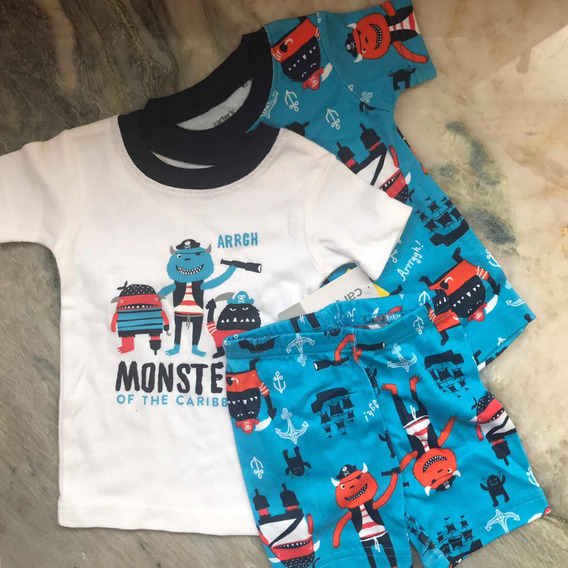 Carters Pijamas Ropa Para Bebe 6 Meses