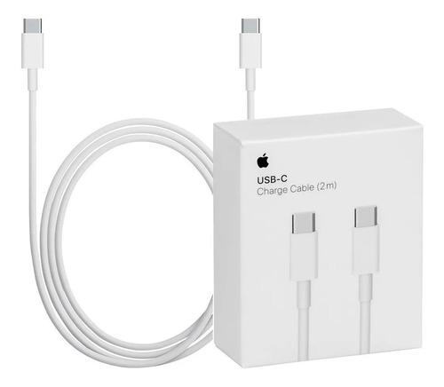 Cable Tipo C Macbook Usb C 2 Metros Original Mll82am/a A1739