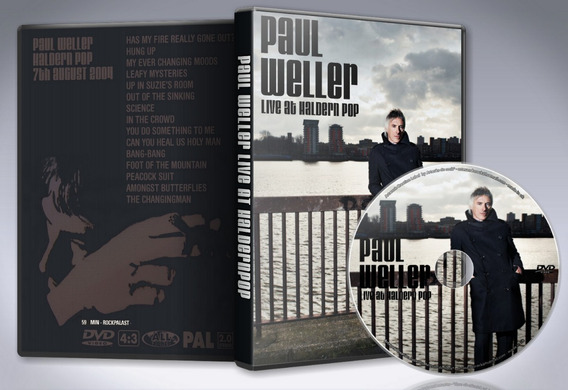 Dvd Paul Weller - Haldern Pop Festival 2004