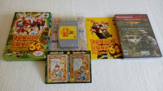 Donkey Kong N/64 Japonês Original Completo